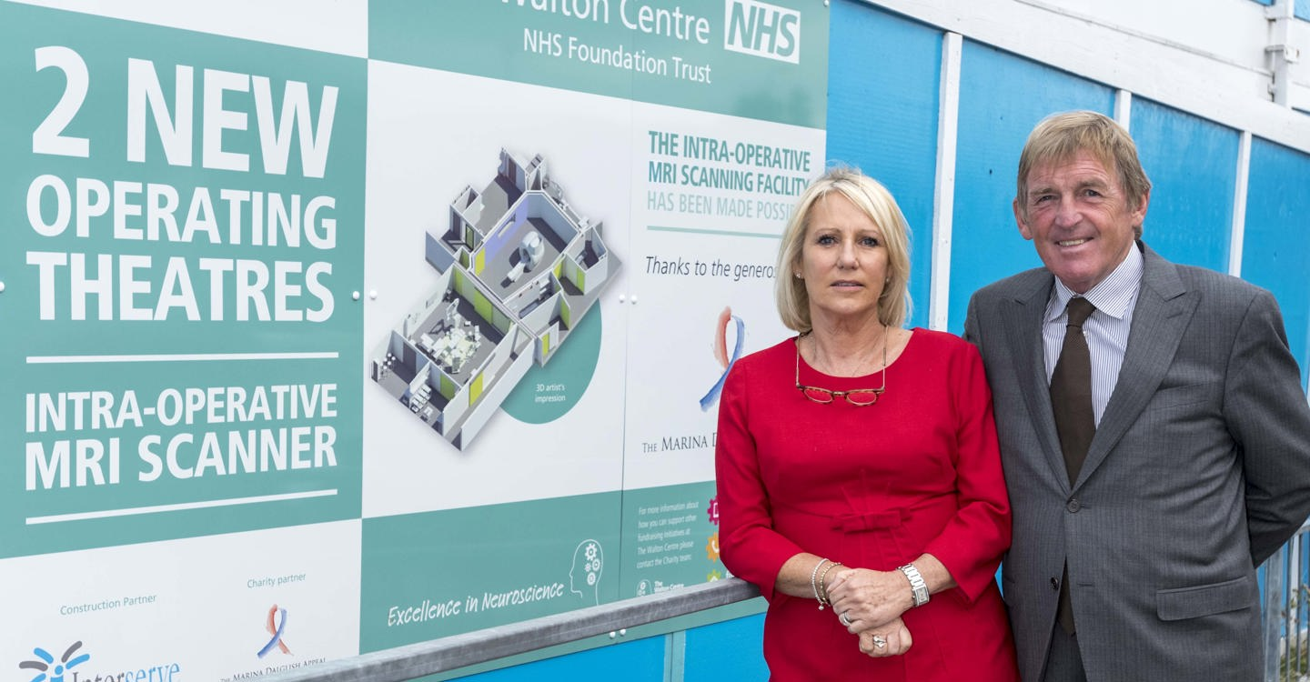 £2m donation from The Marina Dalglish Appeal funds new iMRI scanner